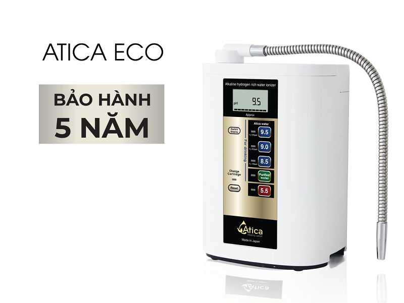 Máy lọc Atica Eco chất lượng đến từ Nhật Bản được mọi nhà yêu thích