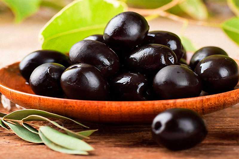 Quả ô liu chín thường có chứa hàm lượng chất béo không bão hòa, vitamin E