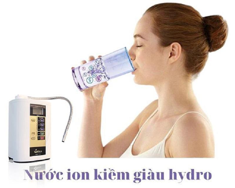 Các thời điểm uống nước ion kiềm tốt nhất