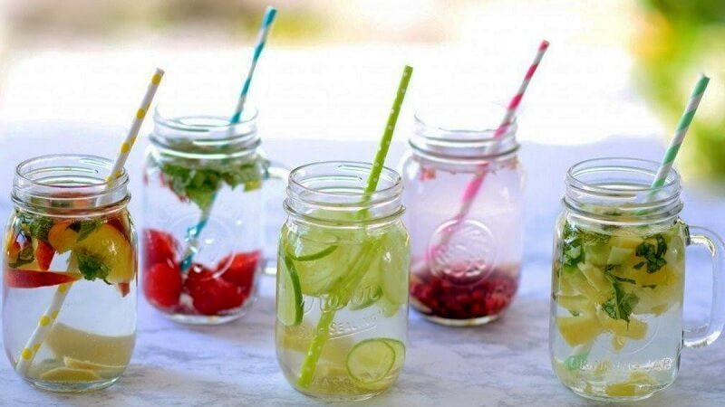 Nước detox là đồ uống healthy giúp giảm cân, thải độc tốt