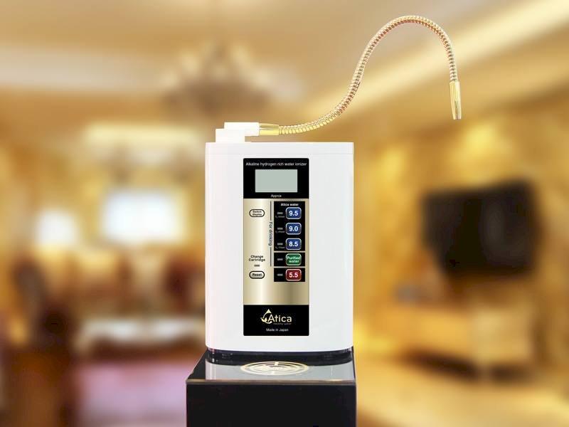 Máy lọc nước ion kiềm Atica Gold là sản phẩm mang thương hiệu Maxell