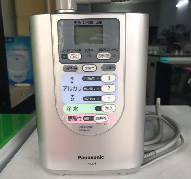 Máy lọc nước ion kiềm Panasonic TK7208 là sản phẩm được nhiều gia đình lựa chọn hiện nay