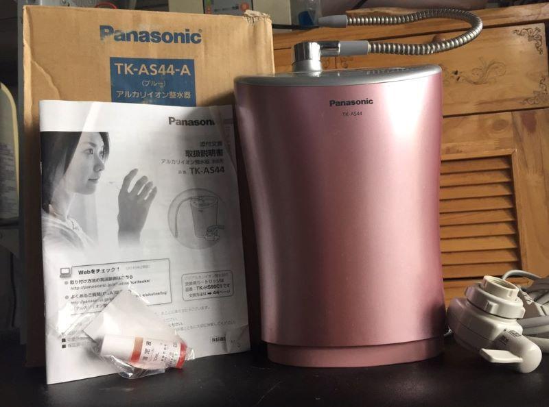 Máy lọc nước Panasonic TK-AS44 có thiết kế rất nhỏ gọn, màu sắc trang nhã
