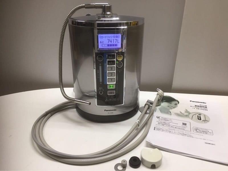 Máy lọc nước Panasonic TK-HS90 được trang bị 7 tấm điện cực