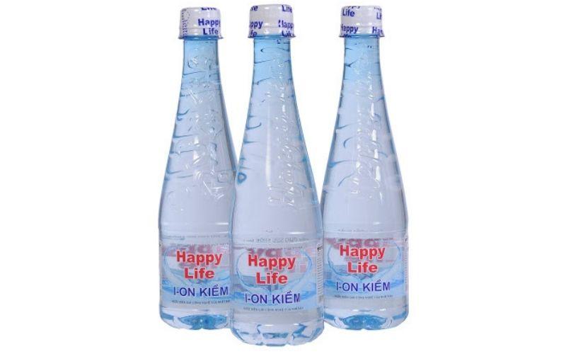 Nước ion kiềm đóng chai là loại nước có cấu trúc nhỏ