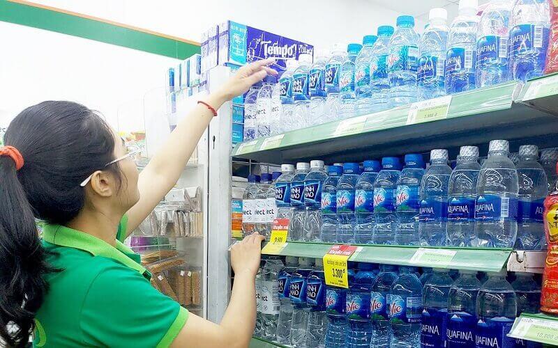 Độ pH của nước ion kiềm đóng chai thường không có tính ổn định