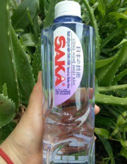 Nước ion kiềm Saka được sản xuất bởi công nghệ điện phân hiện đại của Nhật Bản