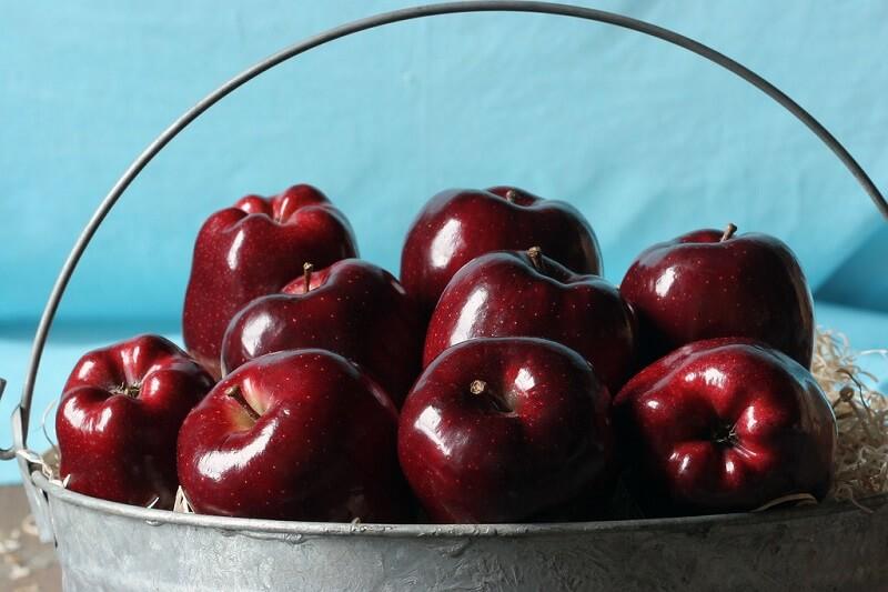 Táo đỏ có tác dụng tốt đối với sức khỏe, khả năng chống oxy hóa tốt
