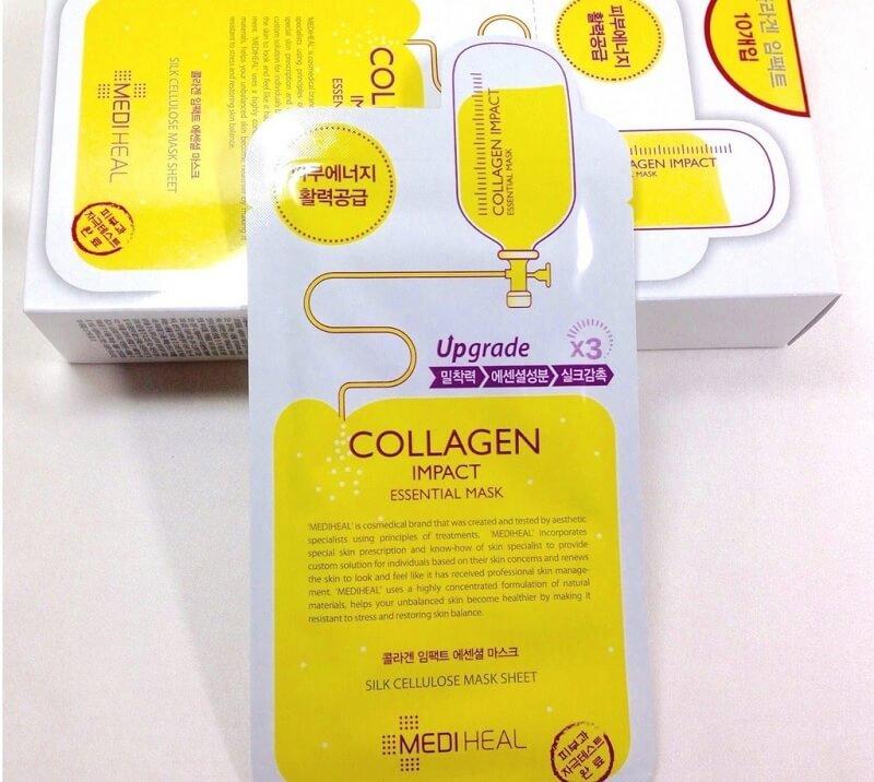 Trẻ hóa làn da với mặt nạ bổ sung collagen và dưỡng chất cần thiết