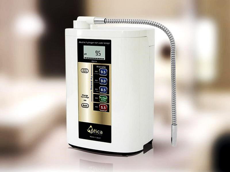 Máy lọc nước ion kiềm Atica được nhiều người tiêu dùng ưa chuộng