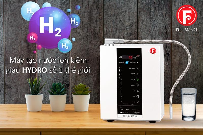 Máy lọc nước ion kiềm Fuji Smart I8 là mẫu sản phẩm được rất nhiều người dùng đánh giá cao