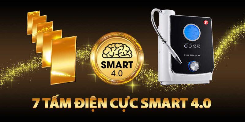 7 Tấm điện cực Smart 4.0 đem đến hiệu suất lọc nước vượt trội hơn bao giờ hết