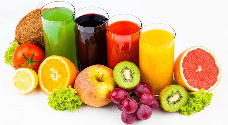 Các loại nước ép trái cây nguyên chất cung cấp vitamin và khoáng chất cần thiết cho cơ thể