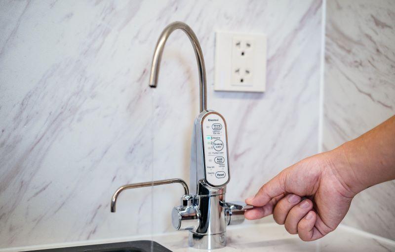 Siêu phẩm máy lọc nước điện giải ion kiềm cleansui eu301