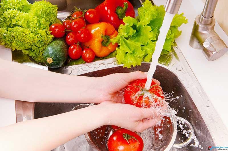 Nước ion kiềm cấp độ 3 dùng nấu ăn và chế biến thực phẩm