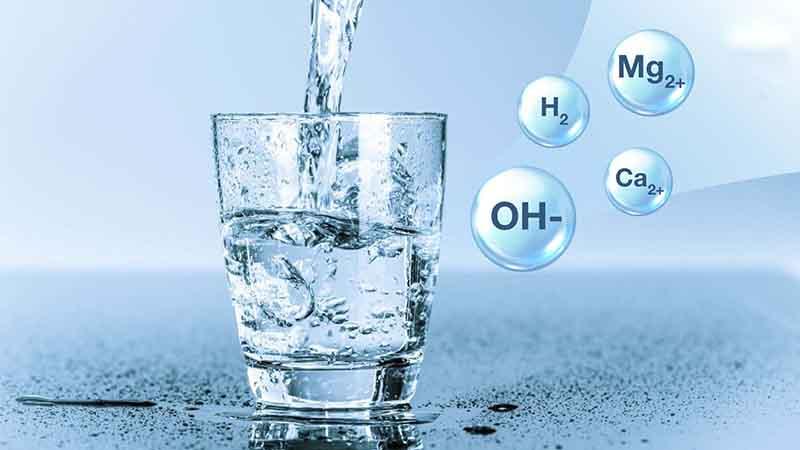 Máy lọc nước ion kiềm Kangen LeveLuk JRII tạo ra 7 loại nước