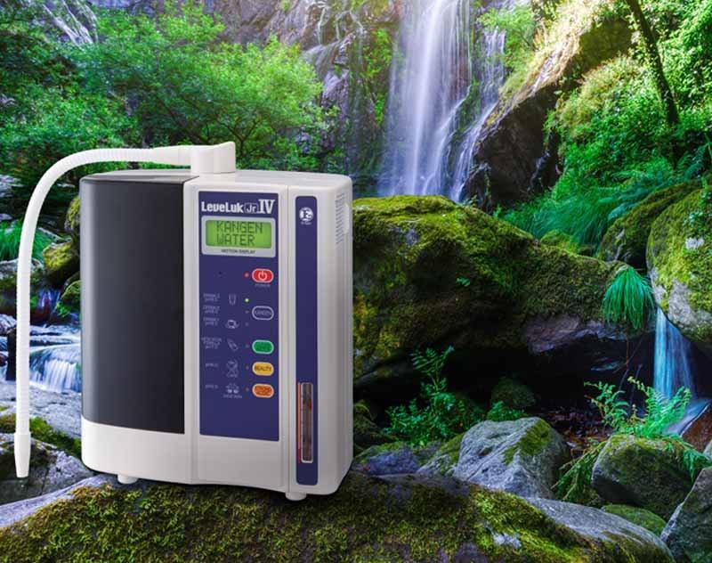Máy lọc nước ion kiềm LeveLuk JRIV hãng Kangen có thiết kế hiện đại