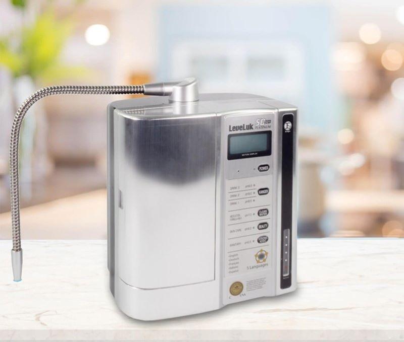 Máy Kangen - Enagic LeveLuk SD501 Platinum sở hữu chế độ vệ sinh tự động