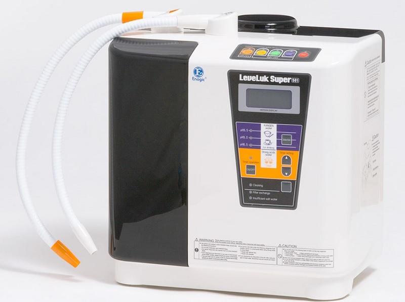 Kangen Leveluk Super 501 là thiết bị lọc nước điện giải ion kiềm lớn nhất của hãng Kangen