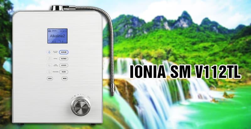 Máy lọc nước ion kiềm Ionia SM V112TL là sản phẩm nổi tiếng của tập đoàn Ionia